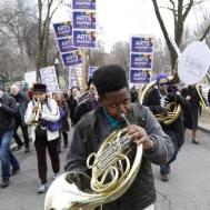 """Arts Matter Advocacy Day"" (photo: Keith Bedford/Boston Globe staff)"